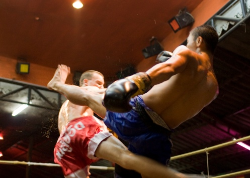 Muay Thai...a lot of kicking involved.