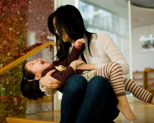 Tough life of a kindergartner