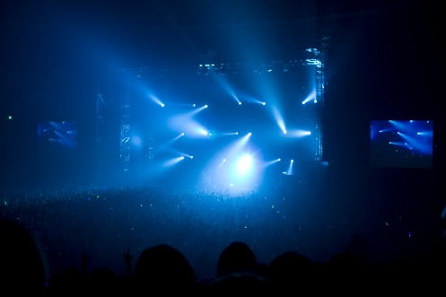 Oasis, lights