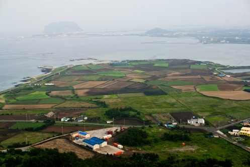 View around Jongdal-ri from the top of Jimmibong
