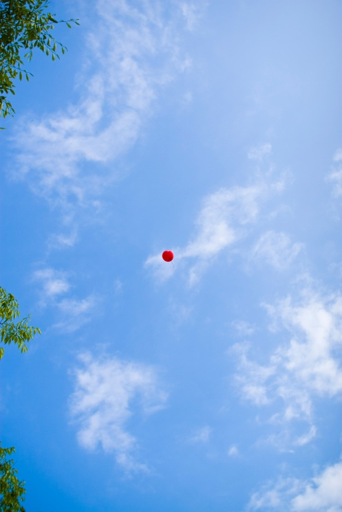 Another balloon is lost...