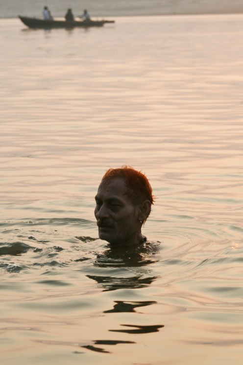 Bathing in Ganga Ma (Varanasi)