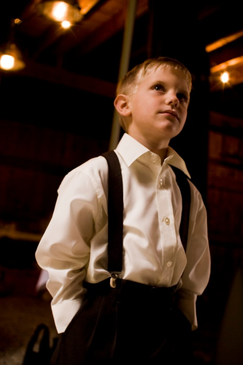 Ben's nephew, the ring bearer