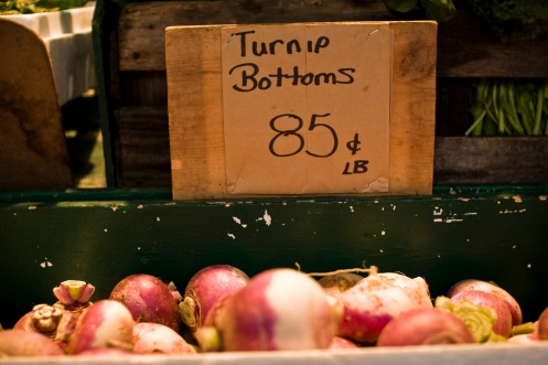 Turnip Bottoms